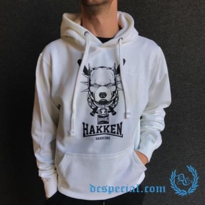 Hakken Hooded Sweater 'Pitbull White'