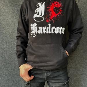 Hakken Hooded Sweater 'I Love Hardcore'