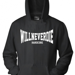 Hakken Hooded Sweater 'Hardcore Will Never Die'