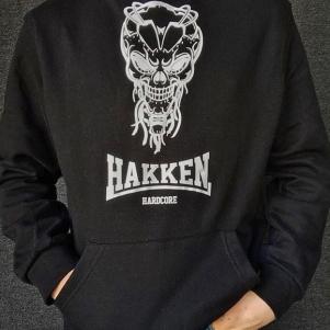 Hakken Hooded Sweater 'Cyberskull'
