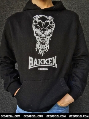 Hakken Hooded Sweater 'Cyberskull'