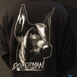 Doberman Sweater 'Head'
