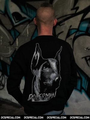 Doberman Sweater 'Head'