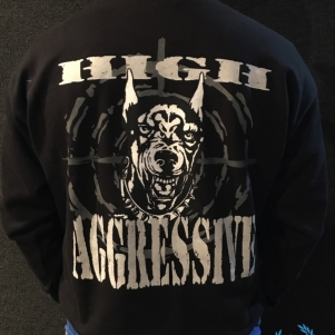 Doberman Sweater 'High Aggressive'