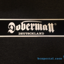 Doberman 'Metal Sign'