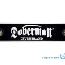Doberman 'Metal Sign'
