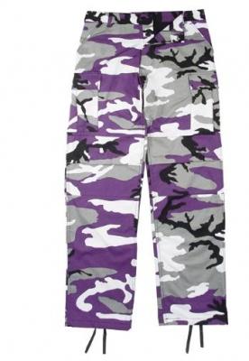 Legerbroek 'Purple'