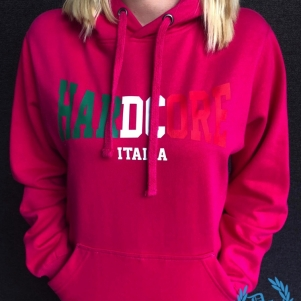 Hakken Dames Hooded Sweater 'Hardcore Italia'