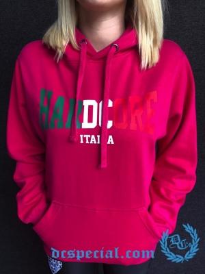 Hakken Hardcore Dames Hooded Sweater 'Hardcore Italia'