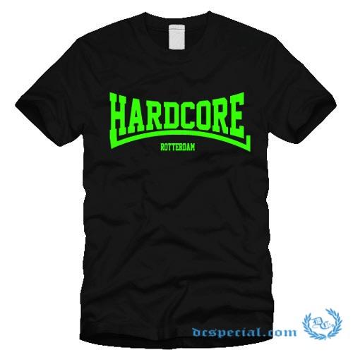 Hakken T-shirt 'Hardcore Rotterdam Green'