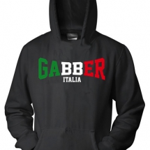 Hakken Hooded Sweater 'Gabber Italia'