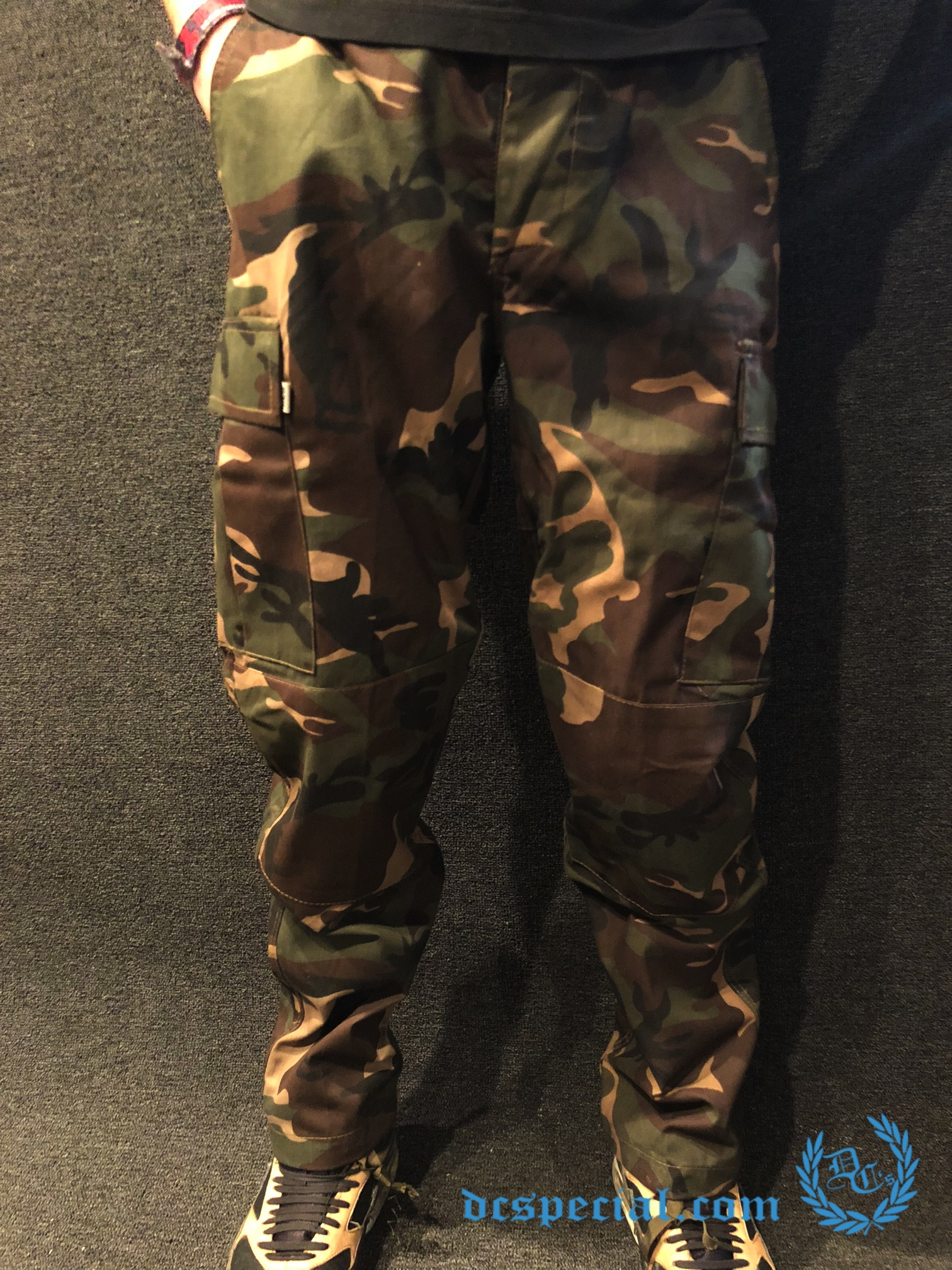 Army Pants 'BDU Camou Woodland'