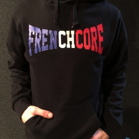 Frenchcore Hooded Sweater 'Frenchcore'