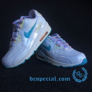 Nike Air Max 90 Kids 'White Gym'