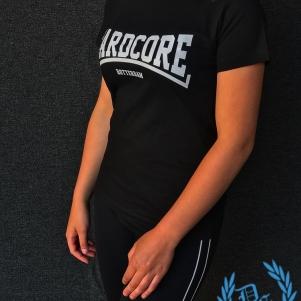 Hakken Ladies T-shirt 'Hardcore Rotterdam White'
