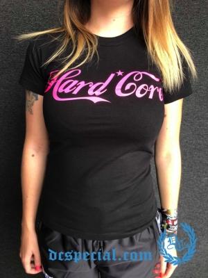 Hakken Dames T-shirt 'Hardcore Coca Cola'