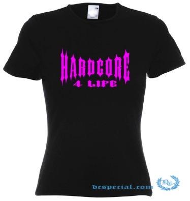 Hakken T-Shirt 'Hardcore 4 Life'