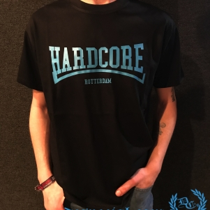 Hakken T-shirt 'Hardcore Rotterdam Blue'