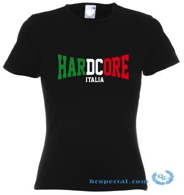 Hakken T-Shirt 'Hardcore Italia'