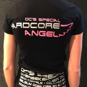 Dc's Special Dames T-shirt 'Hardcore Angel'