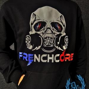 Hakken Hooded Sweater 'French Gasmask'