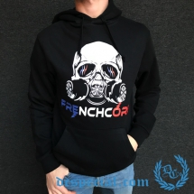 Hakken Hooded Sweater 'French Gasmask'