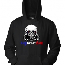 Frenchcore Hooded Sweater 'French Gasmask'