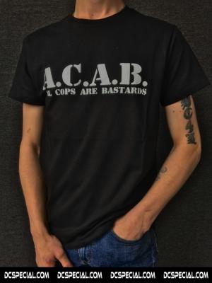 ACAB T-shirt 'Basic Black'