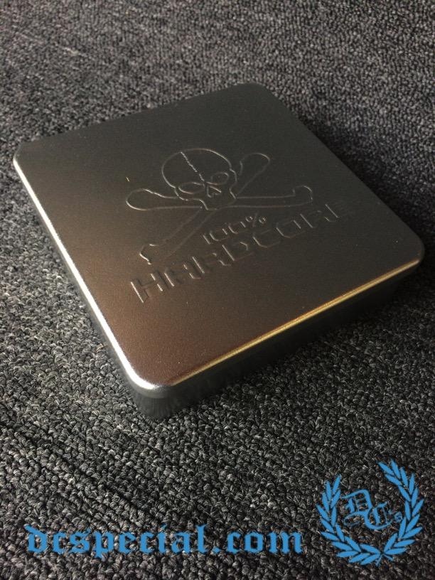 100% Hardcore Giftbox 'Metal Skull'