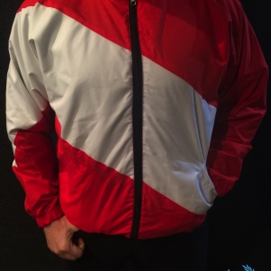 PGwear Veste 'Red-White'