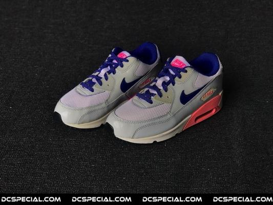 Nike Air Max 90 'Pure Platinum Blue Pink'