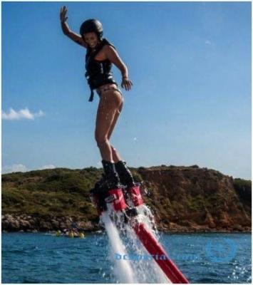 Flyboard sessie ( 5 - 10 min. theorie + 20 min. flyboard )
