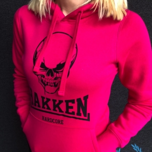 Hakken Ladies Hooded Sweater 'Hakken Skull'