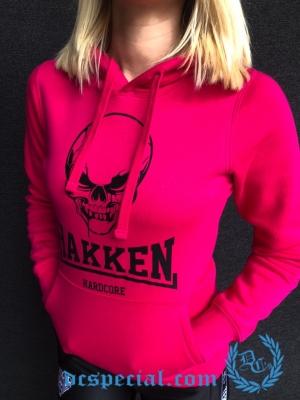 Hakken Hardcore Dames Hooded Sweater 'Hakken Skull'