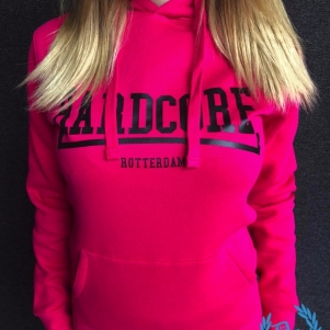 Hakken Dames Hooded Sweater 'Hardcore Rotterdam'