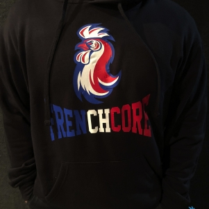 Frenchcore Hooded Sweater 'Frenchcoq'