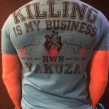 Yakuza T-Shirt 'Killing Is My Business'