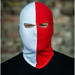 PGwear Balaclava 'Red/White'