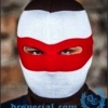 PGwear Balaclava 'Brown/White/Red'