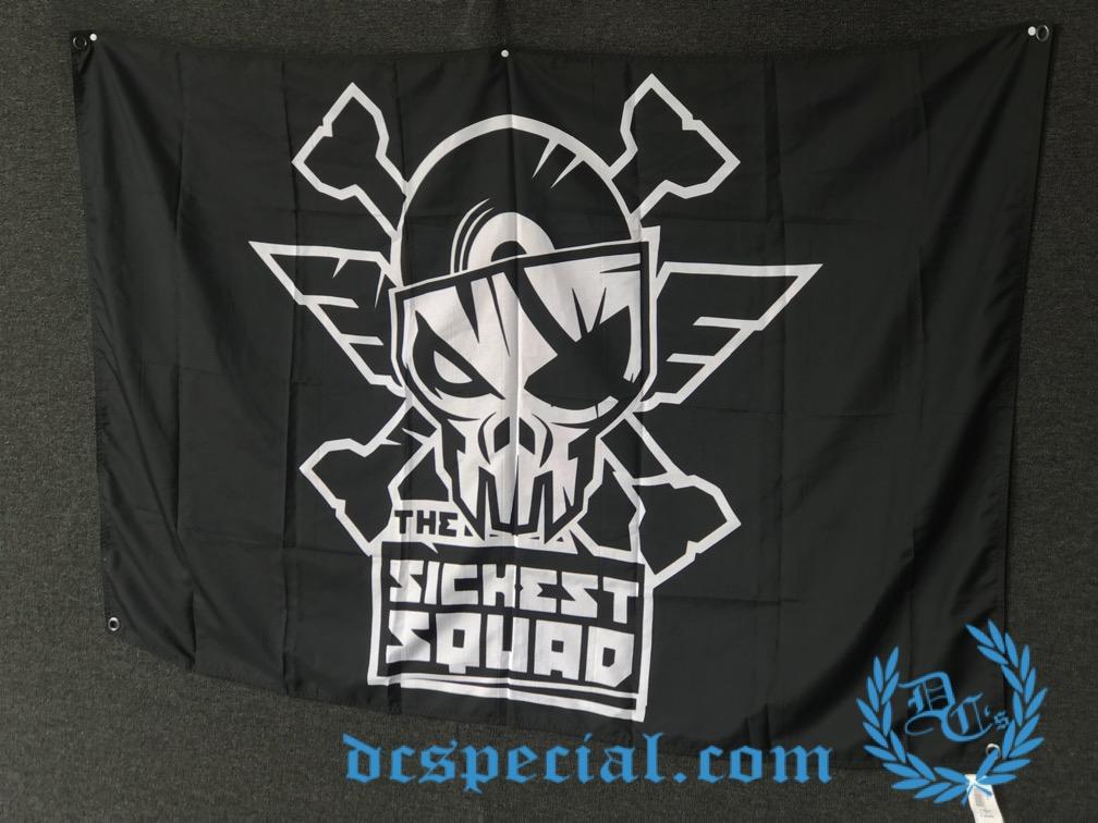 The Sickest Squad Flag 'Logo Basic'