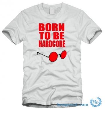 Hakken T-shirt 'Born To Be Hardcore'