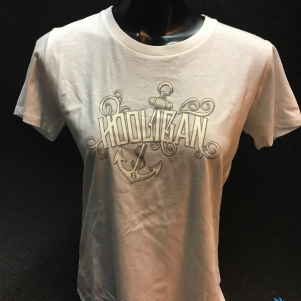 Hooligan Dames T-shirt 'Anchor'