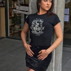 Hooligan Ladies T-shirt 'Smart Alex'