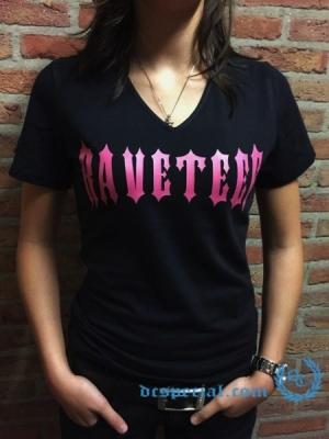 Hardcore T-Shirt 'Raveteef'