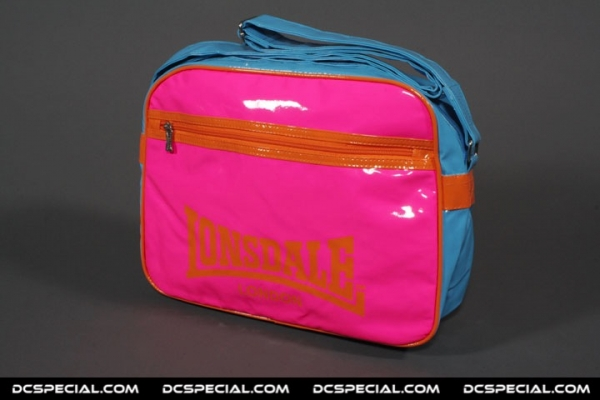 Lonsdale Hipbag 'Pink Leather'