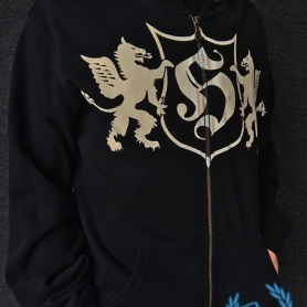Hooligan Hooded Sweater 'Dragon Black'