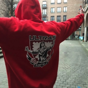 Ultras Hooded Sweater 'Kortrijk Ultras'