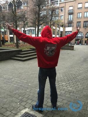 Ultras Hooded Sweater 'Kortrijk Ultras'