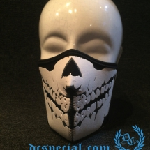 Mask Half Face 3D 'Neopreen Black'