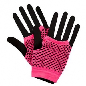 Party Gloves 'Pink'